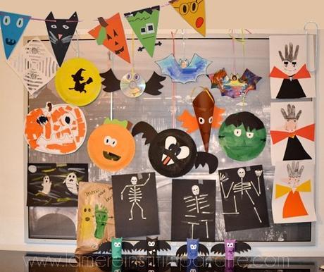 14 idées de bricolages sur le thème d'Halloween