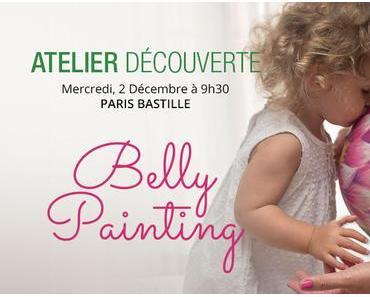 [Atelier] Belly painting à Paris avec Alexandra : le 2/12/15