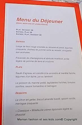 J ai test le nouveau restaurant de philippe etchebest - La cuisine de philippe menu ...