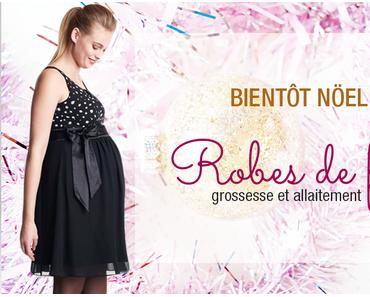 Des robes de fête élégantes pour des futures mamans sublimes!
