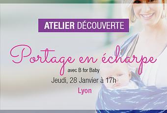 56f7fb4a2993  ATELIER  Le portage en écharpe avec B for Baby à Lyon