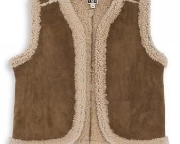 Un manteau en shearling pour votre petit…