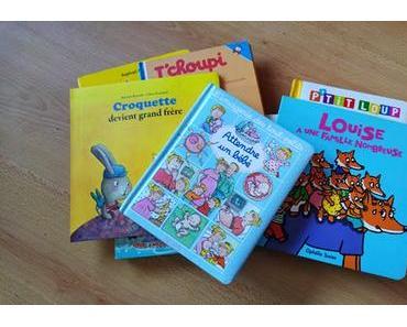 Ma sélection de livres pour préparer l'arrivée d'un bébé dans la famille { Chut les enfants lisent #14 }