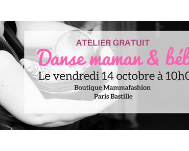 Danse maman et bébé : un atelier découverte sur Paris