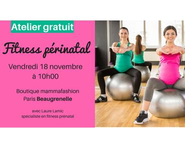 Enceinte et sportive: c'est possible avec le fitness prénatal !