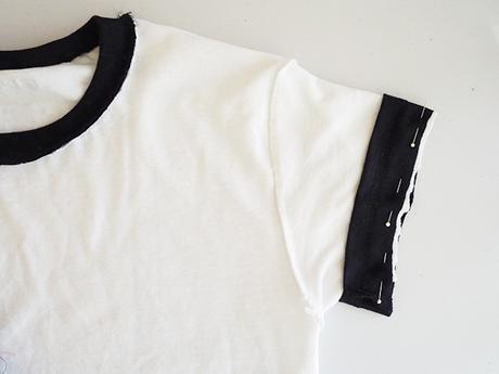 DIY Ringer t-shirt