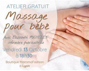 ATELIER GRATUIT : Massage pour bébé