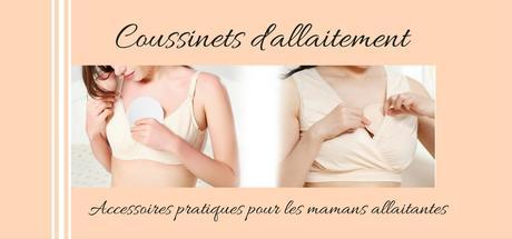 Coussinets d'allaitement : Accessoires pratiques pour maman allaitante