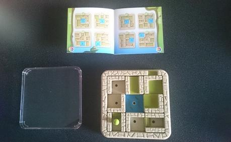 Présentation de la marque Smartgames – Test du  jeu L'aventurier