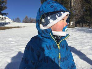 Les soins d'hiver pour bébés et enfants