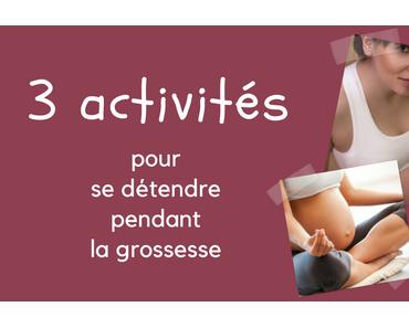 3 activités pour se détendre pendant la grossesse