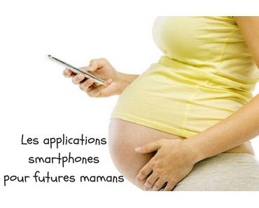 Les applications smartphones pour futures mamans