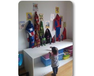 Notre organisation niveau rangement des jeux des enfants