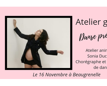 Atelier gratuit : découvrez la danse prénatale