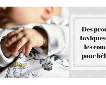 Les couches pour bébés contiennent-elles des produits toxiques ?