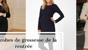robes grossesse rentrée