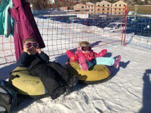 Une escapade hivernale en famille à Leysin