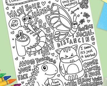 Coloriage à imprimer pour enfant et adulte #Jerestechezmoi