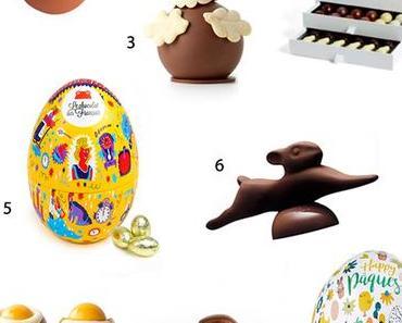 Sélection «Top 10 Chocolat de Pâques»